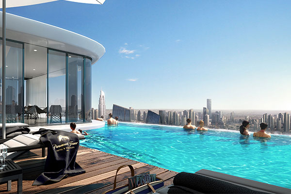 Paramount Tower Hotel & Residences Dubai by DAMAC Properties