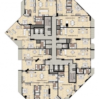 Burj DAMAC Marina by DAMAC - Floor Plan