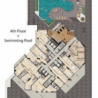 Burj DAMAC Marina by DAMAC - Floor Plan