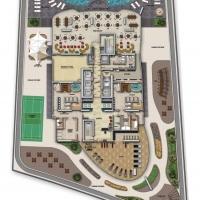 Upper Crest by DAMAC - Floor Plan