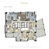 إكزكتيف باي by DAMAC - Floor Plan