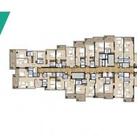 غولف بروميناد في ترمب إنترناشيونال غولف كلوب دبي by DAMAC - Floor Plan