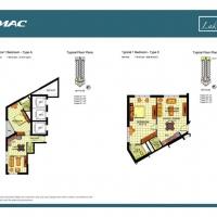 لايك سايد by DAMAC - Floor Plan