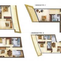Marina Bay by DAMAC - Floor Plan