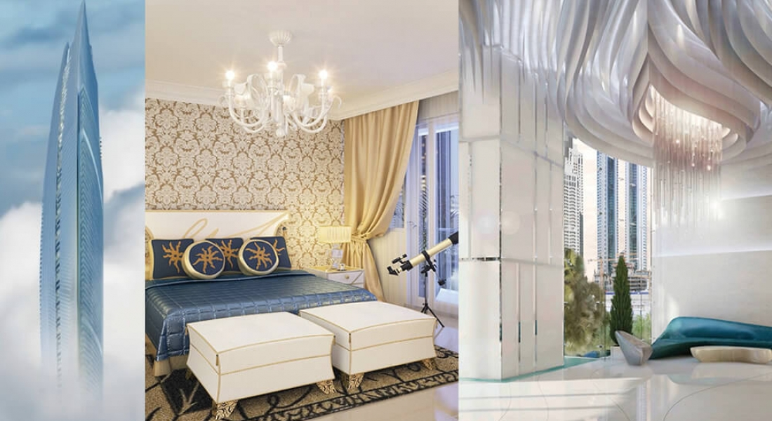 DAMAC Heights by DAMAC Properties at Dubai Marina