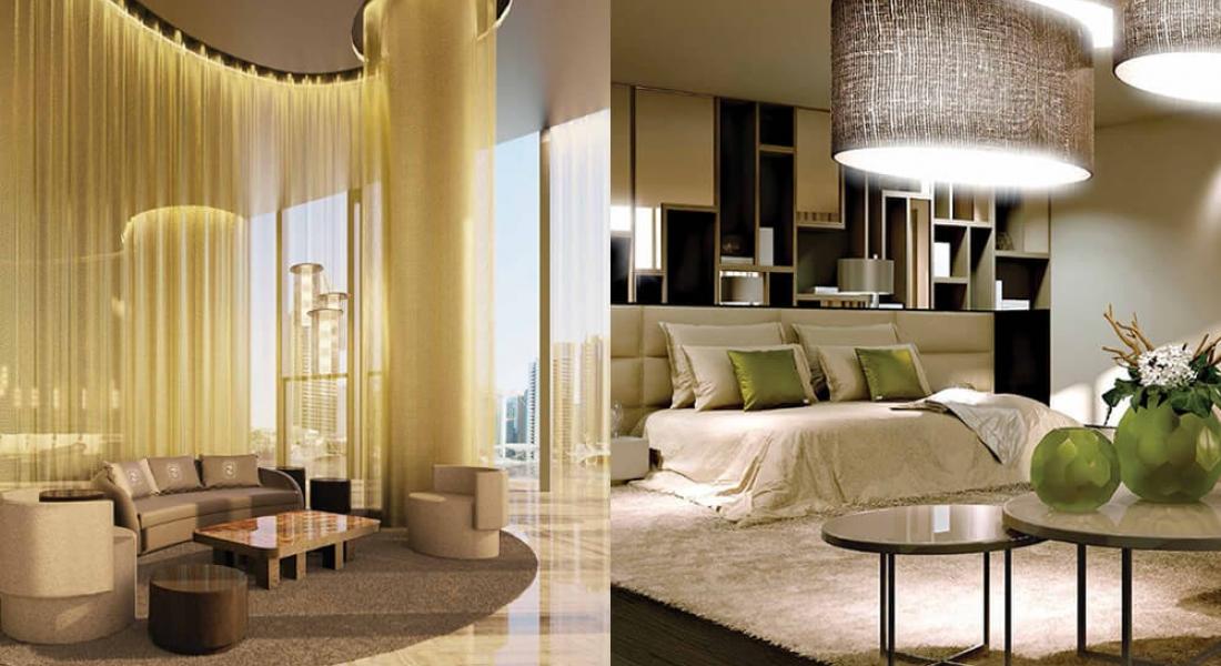 DAMAC Residenze with interiors by Fendi Casa