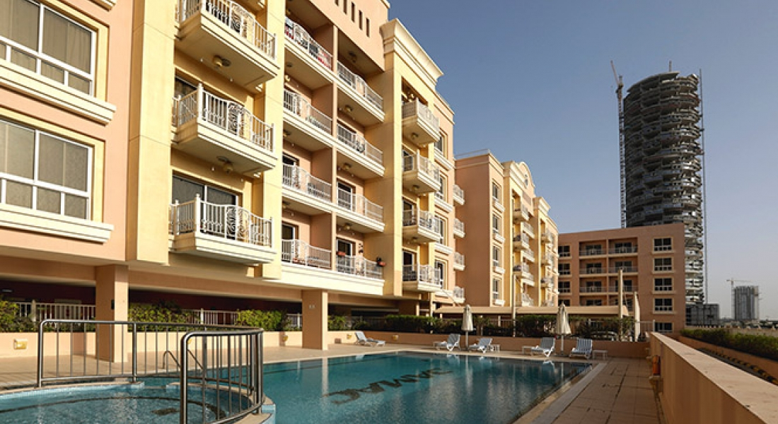 Emirates Gardens residential apartments by DAMAC Properties