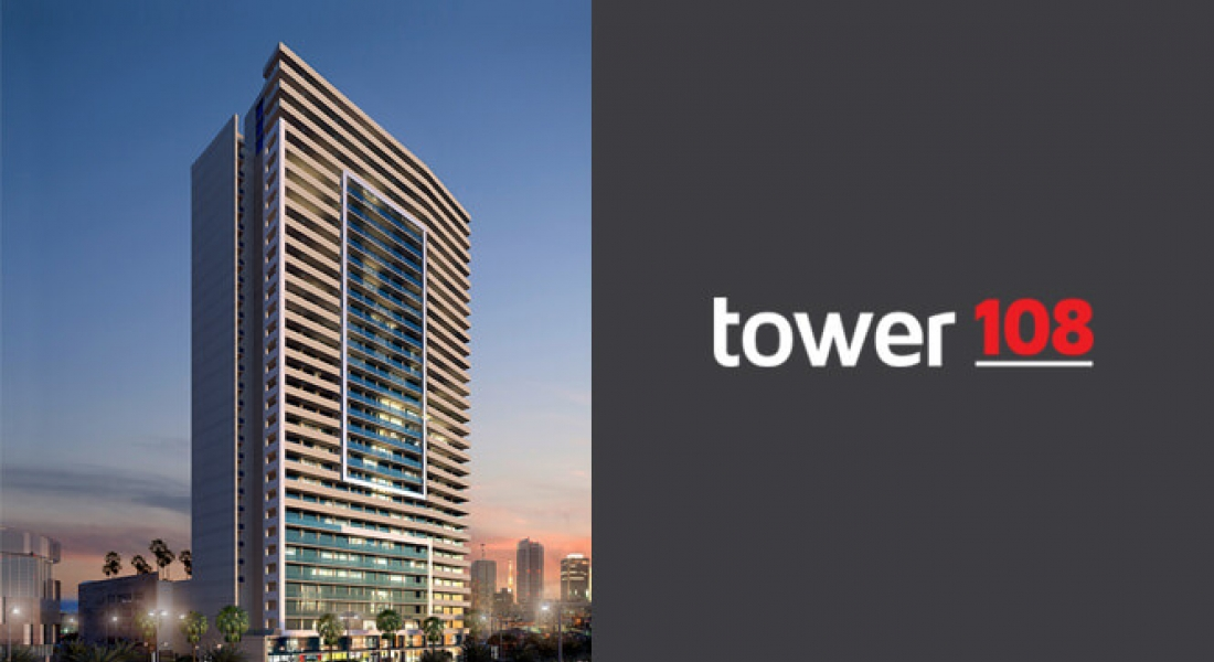 Tower 108 Contemporary hotel residences in JVC by DAMAC Properties
