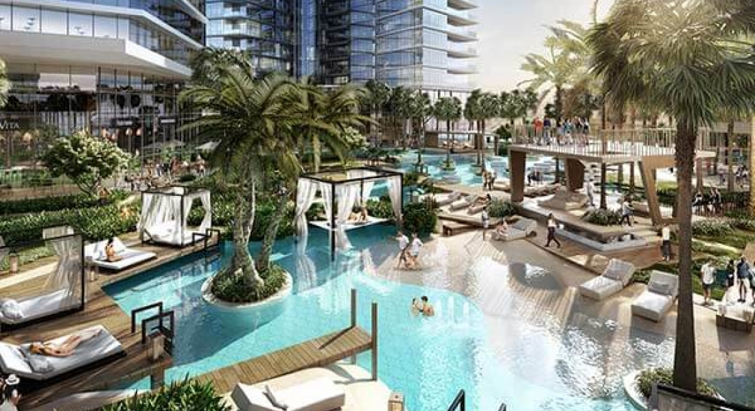 AYKON City overlooking Dubai Canal by DAMAC Properties