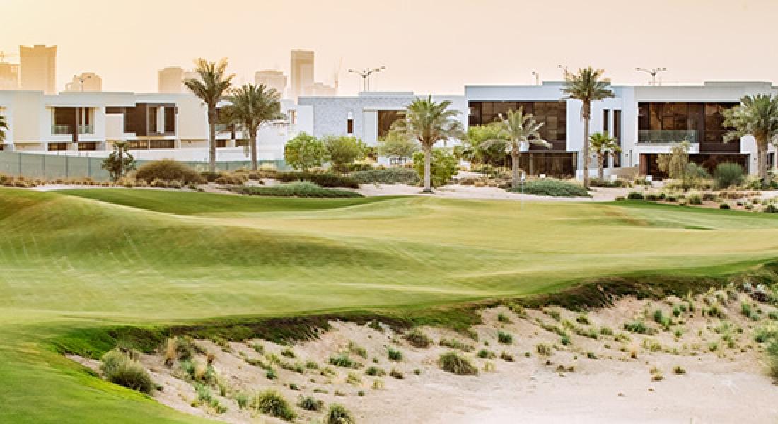Luxury golf community villas by DAMAC Properties