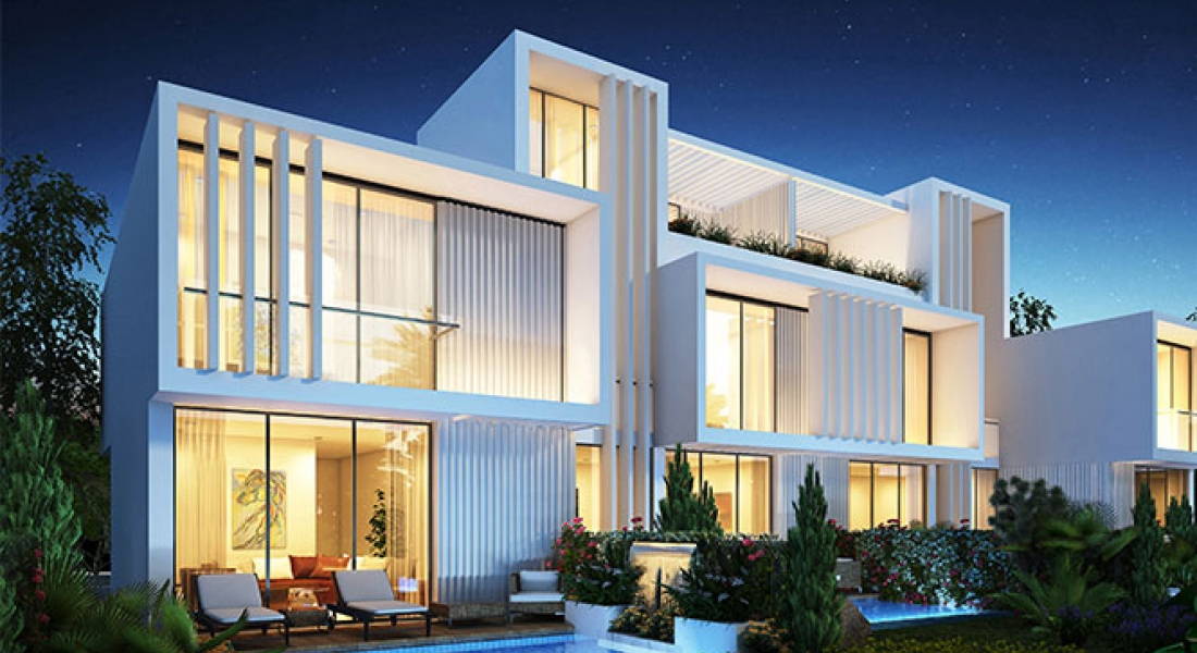 Aurum Villas collection of luxury villas in an international golf community by DAMAC Properties