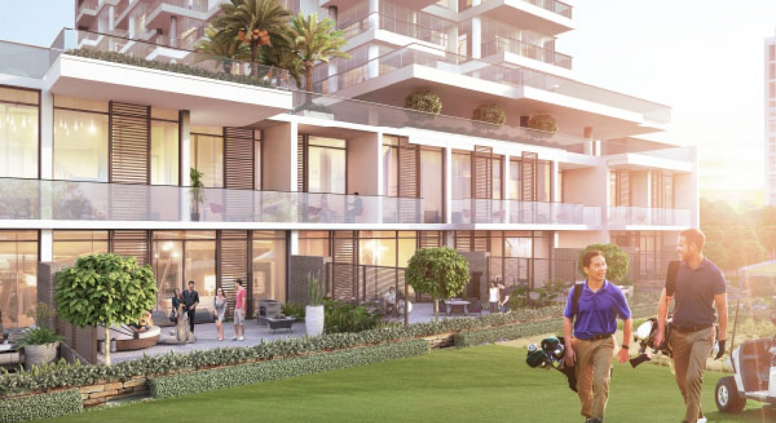 Townhouses on The Golf and The Park by DAMAC Properties