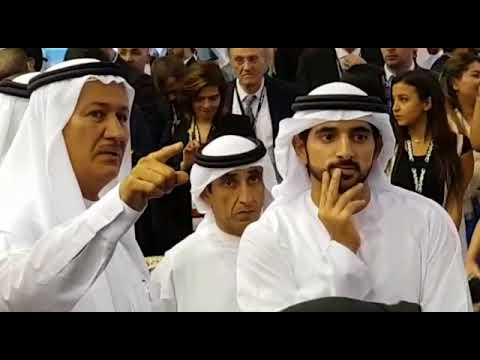Embedded thumbnail for His Highness Sheikh Hamdan Bin Mohammed visiting DAMAC's stand in Cityscape