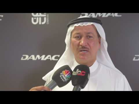 Embedded thumbnail for Hussain Sajwani, Chairman of DAMAC discussing the Mina Qaboos historic deal