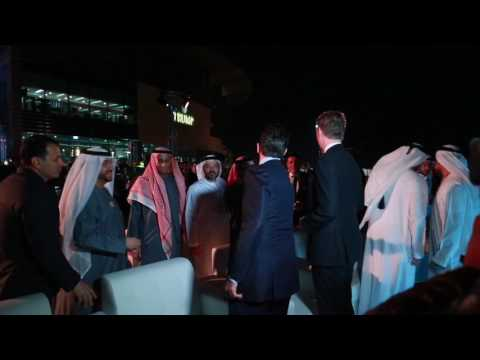 Embedded thumbnail for Inauguration of the Trump International Golf Club Dubai