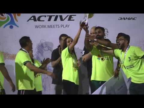 Embedded thumbnail for DAMAC Active 2017 awards ceremony